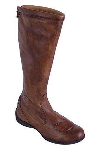 Talla 36 Belstaff Verdadero Marrón Cuero Mujer Zapatos Botas 29 wxqxgO6p