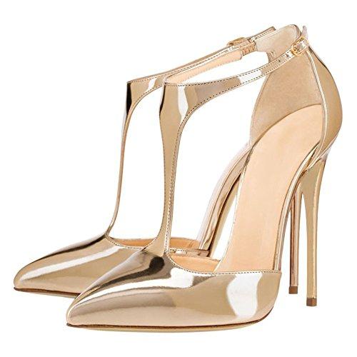 EKS - hebilla Mujer Dorado - dorado