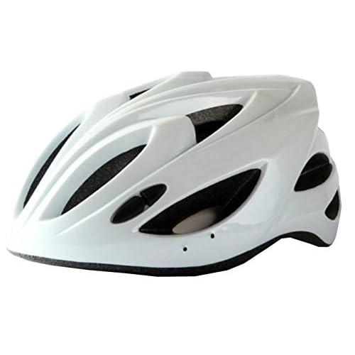 Casque De Vélo équitation Sécurité Intégrée Casque De Sport Léger,White