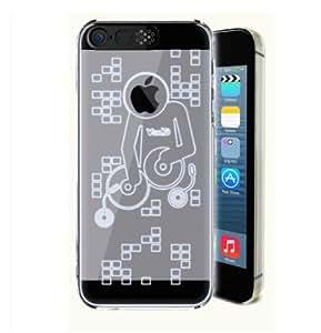 iphone 5/5S protective shell lightning LED flash Polycarbonate Transparent Case