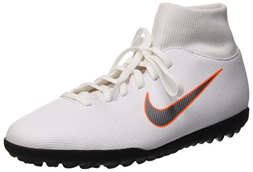 Unisex 107 Club White Grey NIKE Total Adults' Tf Cool Shoes Footbal Mtlc 6 Superflyx Orange Black dwIUHZpq