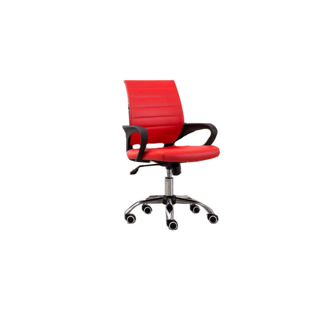 人間工学的のオフィスの椅子、360度回転固定肘掛け椅子、快適なスポンジシート、オフィスの上司の回転の椅子を学ぶのに適した   B07SHP87VH