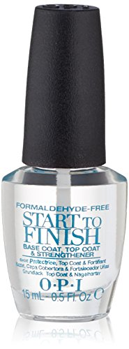 (OPI Nail Lacquer Treatment, Start-to-Finish Formaldehyde-Free, 0.5 fl. oz.)
