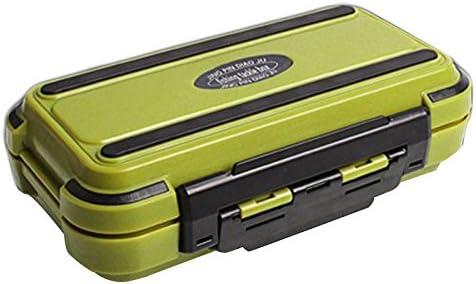 SODIAL Lure Fishing Box 24 Compartimentos Caja de Pesca de Doble ...
