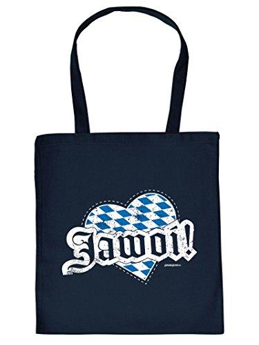 Tasche Bayern Henkeltasche Beutel mit Aufdruck Tragetasche Must-have Stofftasche Geschenkidee Fun Einkaufstasche
