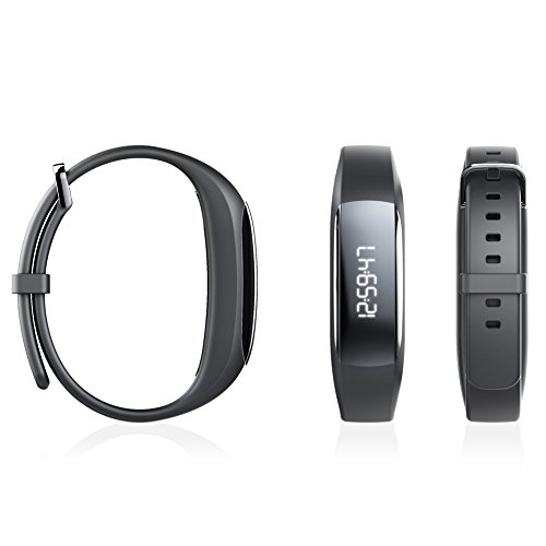 Lenovo HW01 Plus Smart Band with PAI (Black) - Buy Online in