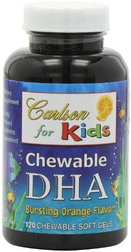 Carlson Carlson For Kids Chew. DHA Orange, 120 gélules