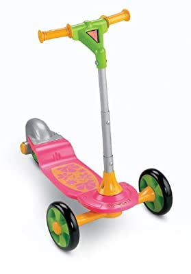 Fisher-Price Grow With Me Sit-to-Stand Scooter by Fisher Price