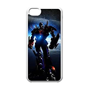 TOSOUL Print Transformers Pattern PC Hard Case for iPhone 5C