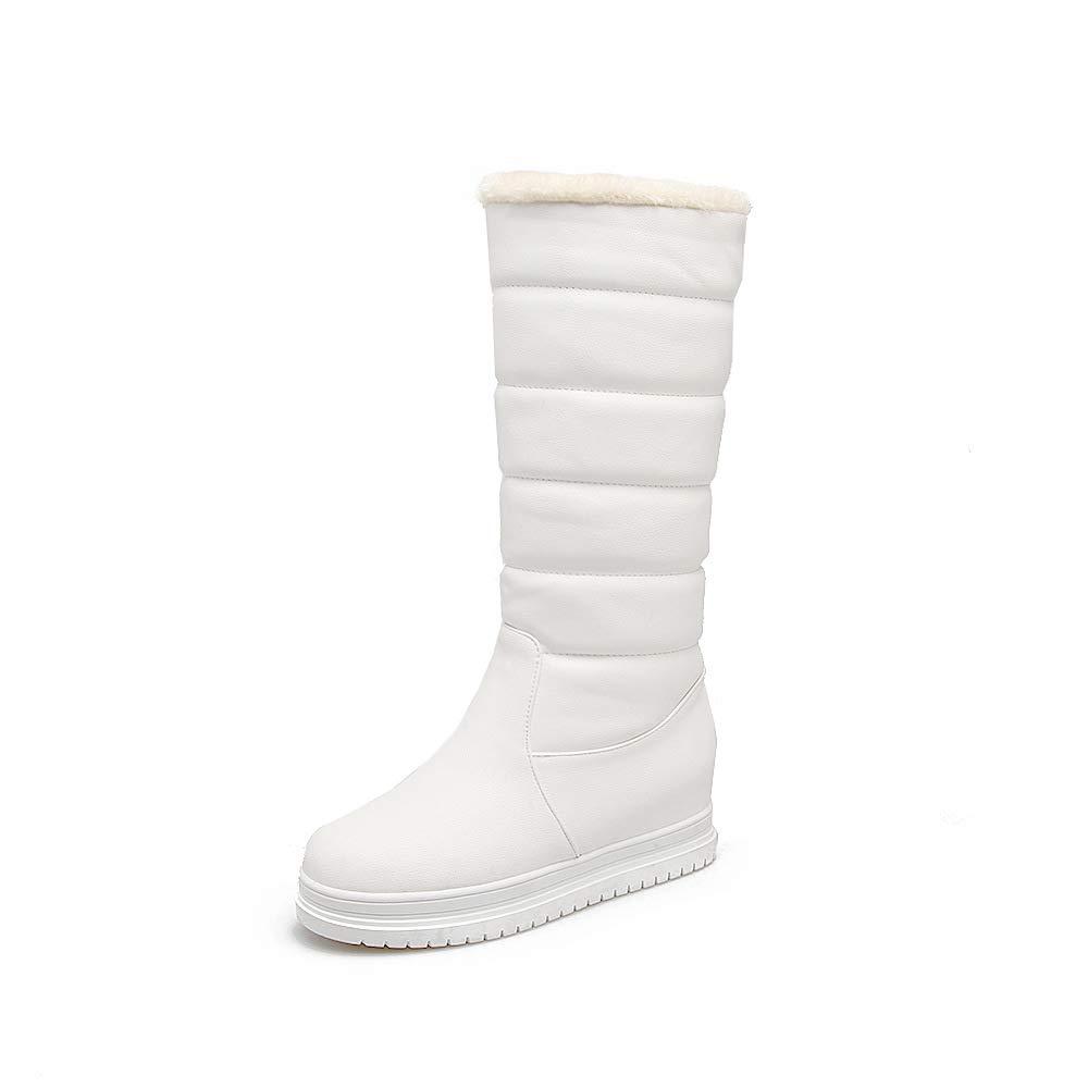 Lsm-Stiefel Lsm-Stiefel Lsm-Stiefel Frauen Flache Ferse Dicke Untere warme Schneeschuhe bbbe7b