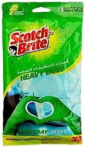 سكوتش برايت قفازات للتنظيفات الصعبة - صغير
