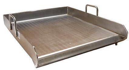 16 x 18 Comal soporte de cocina de barbacoa de acero ...