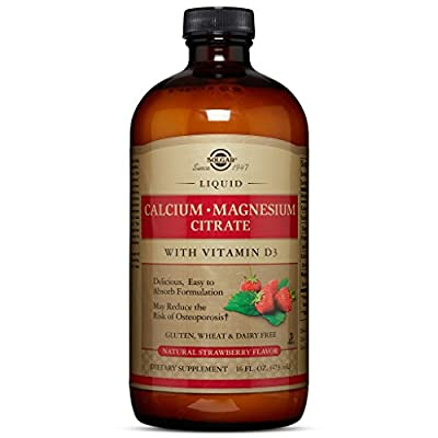 Solgar - Liquid Calcium Magnesium Citrate with Vitamin D3