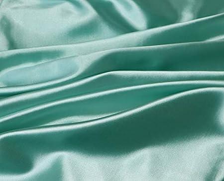 Grigio. misura matrimoniale 50,8 x 76,2 cm con cerniera nascosta Seta Satin BESTELLIE Queen Size Set di 2 federe in raso per capelli freschi e prevenire le rughe