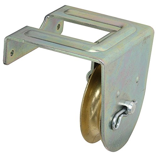 National Hardware N233-262 3221BC Joist Mount Single Pulley in Zinc plated