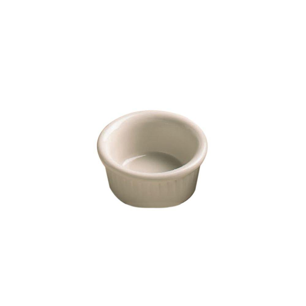 Hall China 4531-WH White 2 Oz. Fluted Ramekin - 36 / CS