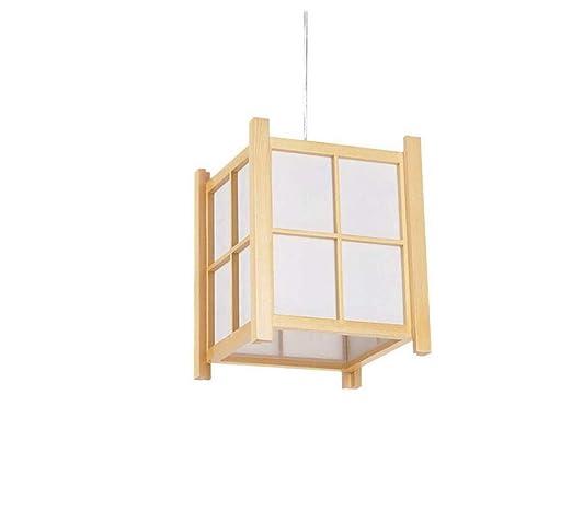 Lampstyle de pared Araña de madera maciza, Restaurante Yoga ...