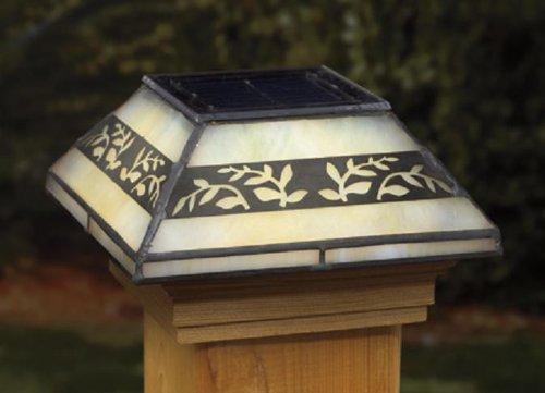 Tiffany Solar Post Lights
