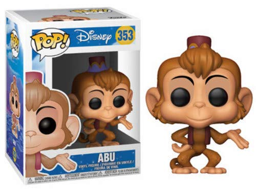 Funko POP! Disney: Aladdin Abu Collectible Toy (Best Companion For Control Wizard 2019)