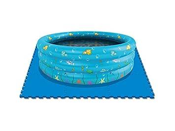 DIVERGARDEN Suelo Protector Piscinas 9 Piezas 50x50 cm.: Amazon.es: Juguetes y juegos