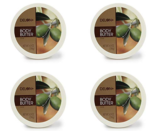 - DELON Intense Moisturizing Olive Body Butter 6.9 Ounce 4 Pack