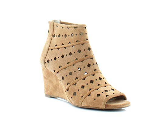 MICHAEL Michael Kors Womens Uma Peep Toe Casual Platform, Acorn, Size 7.0