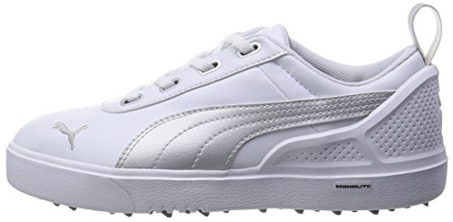 Puma MONOLITE Mini–White-Silver Métallisé