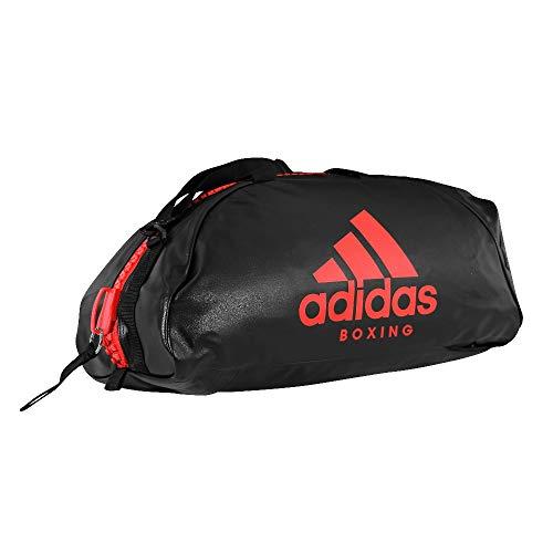ADIDAS Bolsa BOXING 2 EM 1 Preto/Vermelho M