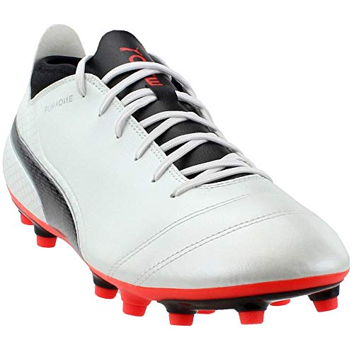 (PUMA One 17.4 FG Firm Ground Mens Soccer Boot White - UK 9)