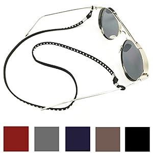 Kalevel Leather Eyeglass Strap Eyeglass Holder Eyeglass Chain for Women Men