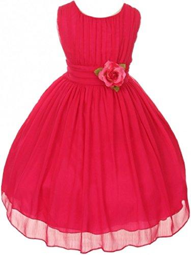 Buy gathered bottom wedding dress - 9