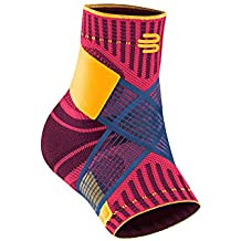 Bauerfeind Sports Ankle Support - Breathable Compression - Figure 8 Taping Strap - Air Knit Fabric Breathability - Designed Secure Fit Maximum Freedom Movement