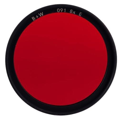 B + W 39mm #091 Glass Filter - Dark Red #29 by B&W