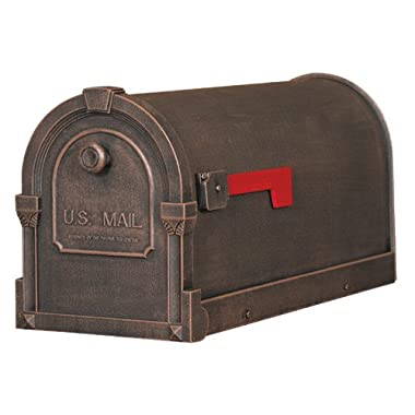 Special Lite Products SCS-1014-CP Savannah Curbside Mailbox, Copper