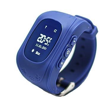 9Tong Niños, Reloj Inteligente con GPS, Reloj rastreador de Niños, teléfono con Sistema Anti-Pérdida, admite Tarjeta SIM, Reloj Inteligente con ...