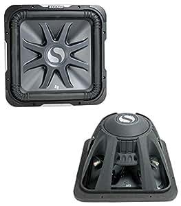 2 new kicker s12l7 12 3000w 4 ohm car audio. Black Bedroom Furniture Sets. Home Design Ideas