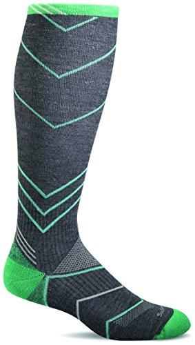 Sockwell Womens Incline Graduated Compression Socks  Charcoal  Small Medium