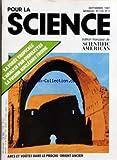 POUR LA SCIENCE [No 119] du 01/09/1987 - LA FORET TROPICALE - L'ANALYSE PAR ONDELETTES - LA FUSION NUCLEAIRES FROIDE - ARCS ET VOUTES DANS LE PROCHE-ORIENT ANCIEN