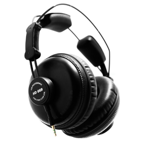 Superlux HD669 Closed Back Studio Headphones by GreenGod