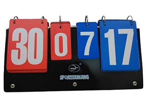 Sutekus Fashing Sports Badminton Scorecard Multi-functional Practical Scoreboard Counter Board