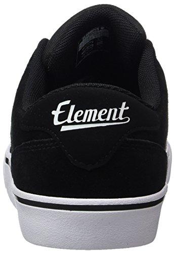 ElementHeatley - Zapatillas de casa Hombre Mehrfarbig (Black White)