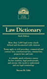 Law Dictionary: Mass Market Edition (Barron's Legal Guides)