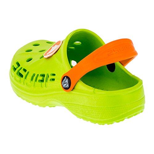M211gnor Bambini Grün Orange 2 Surf Zoccoli FAOBzB