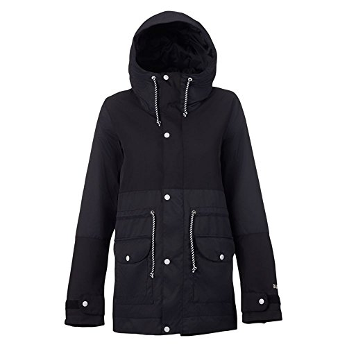 Burton Womens Twc Troublemaker Jacket  True Black  X Small