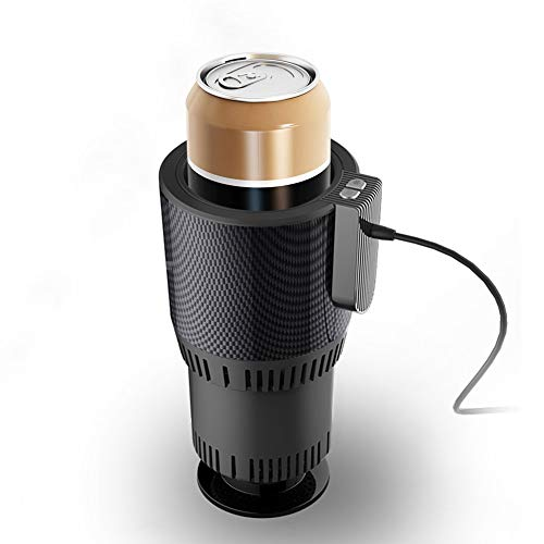 VAlinks Car Cup Warmer & Cooler,Electric Coffee Warmer Beverage Warmer Heating Cup for Road - Beverage Electric Cooler