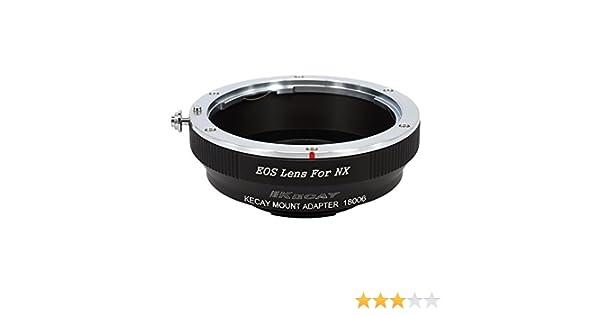 KECAY® Pro Adaptador de Montaje de Lente para Canon EOS EF EF-S ...