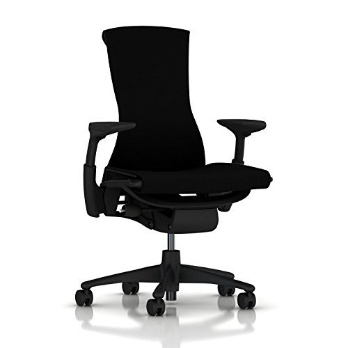 Herman Miller Embody Chair - Graphite Frame/Black Rhythm (Herman Miller Office Table)
