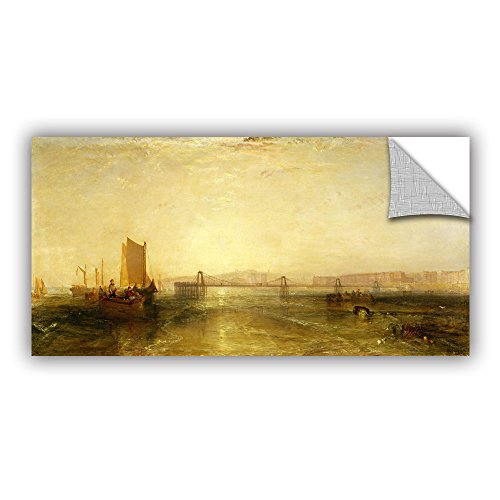 ArtWall William Turner's Brighton from The Sea Art Appeelz Removable Graphic Wall Art, 12