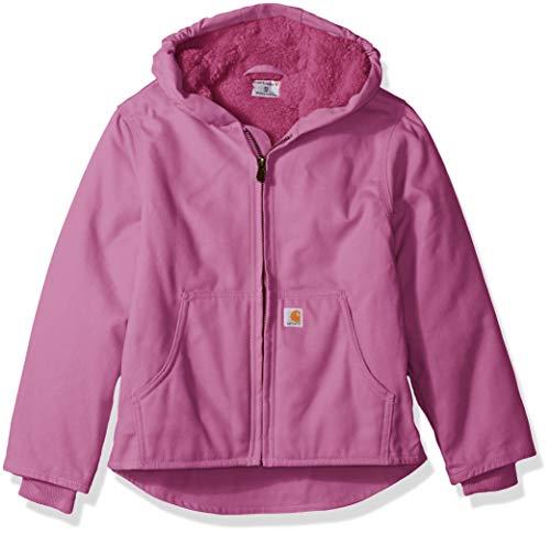6ae03dc89c76 Galleon - Carhartt Girls  Big Redwood Jacket Sherpa Lined