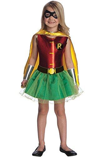 Justice League Child's Robin Tutu Dress - Medium ()